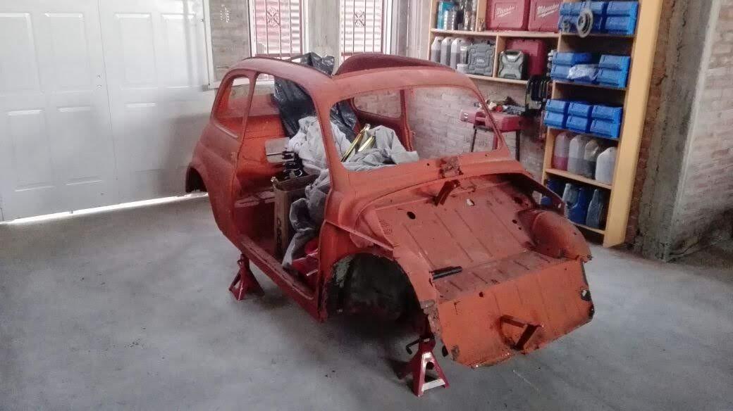 Fiat 500 nuova 1958